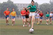 最新影楼资讯新闻-巴西***元素爆棚 体院美女足球写真助威***