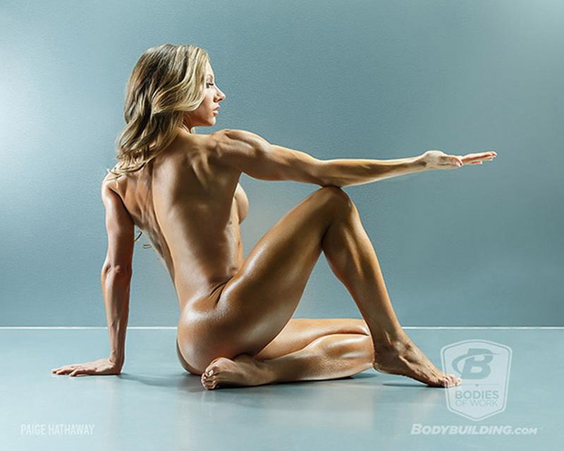美国人体模特 多图:美国健身网站与摄影机构合作拍摄裸体人像