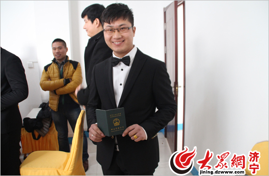 最新影楼资讯新闻-山东济宁首批获国家认证从业资格的婚庆人员上岗