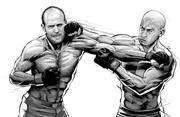 最新影楼资讯新闻-黑白人物插画:Men's Health Magazine
