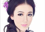 最新影楼资讯新闻-2014清新美感鲜花新娘造型步骤教程详解