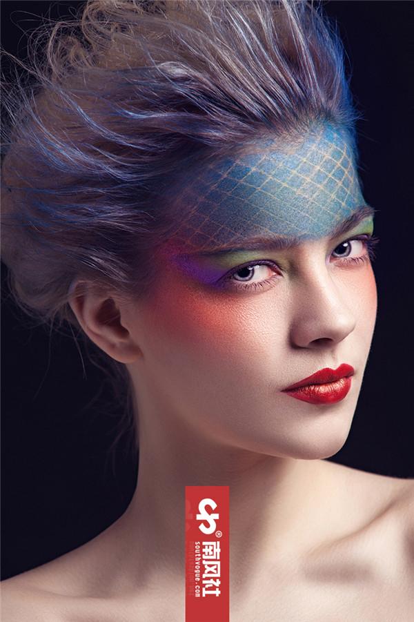 创意彩妆:颜色的碰撞