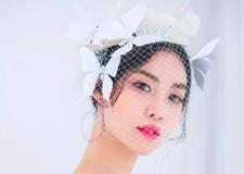 最新影楼资讯新闻-黑白纱新娘造型欣赏 温柔中的坚强