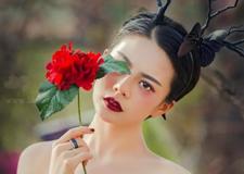 最新影楼资讯新闻-黑白纱新娘造型欣赏 哥特的梦境