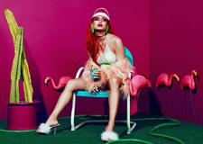 最新影楼资讯新闻-时尚的彩色人像摄影欣赏