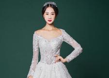 最新影楼资讯新闻-素雅迷人的婚纱造型