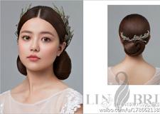 最新影楼乐虎娱乐平台新闻-优雅干净的新娘盘发