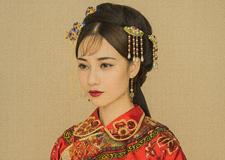 最新影楼资讯新闻-新娘造型 红妆大美中式新娘