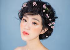 最新影楼乐虎娱乐平台新闻-清凉干净的新娘妆面 凸显出元气满满的少女感