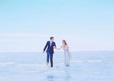 最新影楼资讯新闻-教你用Photoshop调出通透蓝海景婚纱照效果