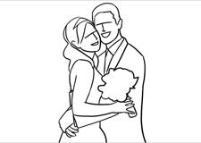 最新影楼资讯新闻-婚礼摄影 21个婚礼新人的拍摄姿势
