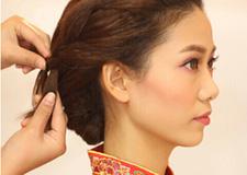 最新影楼资讯新闻-龙凤褂新娘发型教程 打造婚礼**女主角