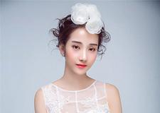 最新影楼资讯新闻-白色系造型 让新娘透着灵雅的纯净感