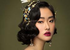 最新影楼资讯新闻-大气的复古巴洛克新娘造型 尽显女王范