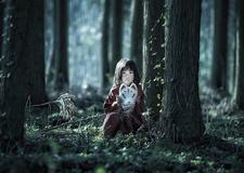 最新影楼资讯新闻-日本摄影师渡辺靖久 以狐狸面具为题的奇幻物语儿童摄影