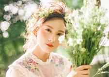 最新影楼资讯新闻-新娘造型欣赏 阳光下的少女