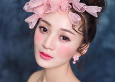 最新影楼资讯新闻-可爱粉嫩的新娘造型 甜甜的幸福感直线上升