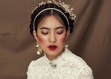 最新影楼资讯新闻-时尚复古巴洛克风造型 成就新娘新潮流
