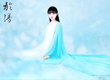 最新影楼资讯新闻-摄影师龄漫·水墨国风工笔画摄影作品:清水芙蓉