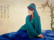 最新影楼资讯新闻-国风工笔画后期摄影作品:古韵歌女