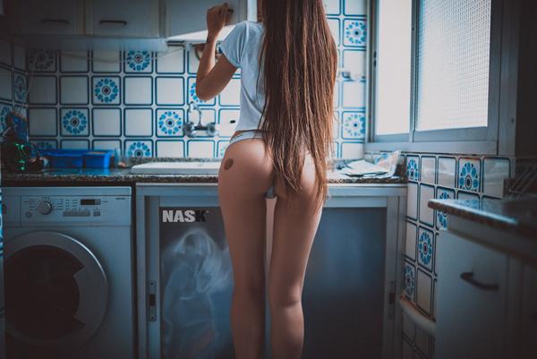 Nask镜头下的女性性感私房人像摄影