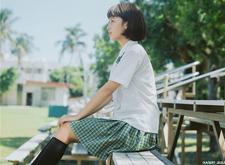 最新影楼资讯新闻-校园风清新色调人像摄影:花莲高中