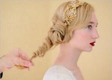 最新影楼资讯新闻-教你两款新娘发型 步骤简单**大气