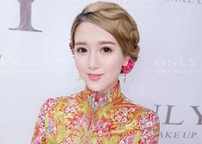 最新影楼资讯新闻-最美红妆新娘造型 演绎雍容复古中国红