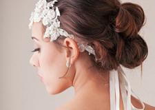 最新影楼资讯新闻-**新娘发型之精致复古新娘盘发步骤详解
