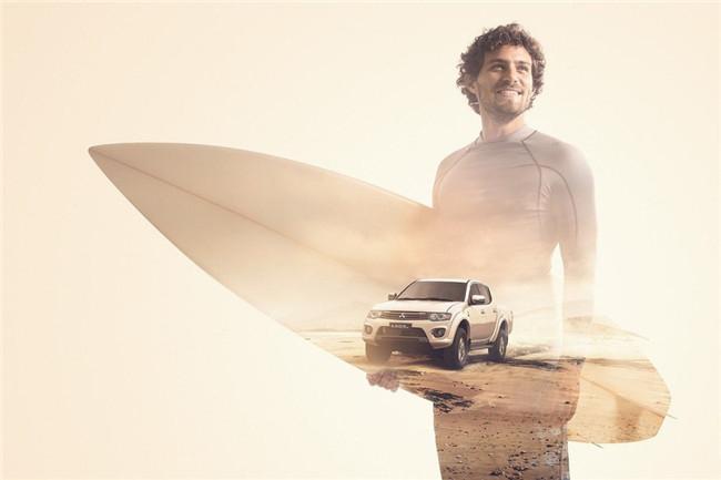 三菱汽车广告 三菱汽车平面广告:驱动你的世界