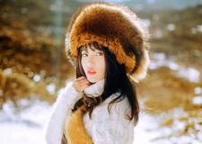 最新影楼资讯新闻-去更远的地方 冬日暖阳下的美丽女孩