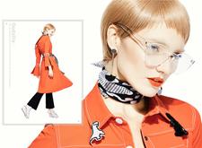 最新影楼资讯新闻-时装广告平面设计作品:Descue