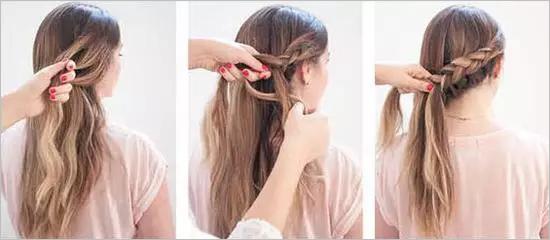 3款美美的鱼骨辫新娘发型教程让新娘的气质和颜值翻倍