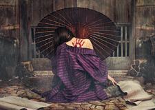 最新影楼资讯新闻-镜头下的日本传说 Reylia Slaby西方女孩的东方映像