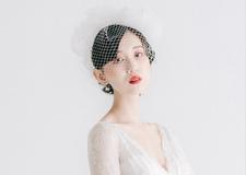 最新影楼资讯新闻-新娘造型欣赏 蕾丝的气息