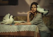 最新影楼资讯新闻-复古又性感 摄影师David Dubnitskiy 油画风复古人像作品
