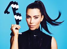 最新影楼资讯新闻-像素画风美女海报作品:Kim Kardashian for AdWeek