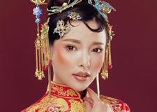 最新影楼资讯新闻-中式秀禾妆面造型 打造古典俏皮美娇娘