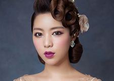 最新影楼资讯新闻-油画质感 轻复古新娘美妆造型欣赏