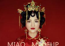 最新影楼资讯新闻-型美高端美妆原创作品 龙凤褂新娘造型