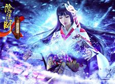 最新影楼资讯新闻-网易游戏《阴阳师》CG风平面海报作品:雪女