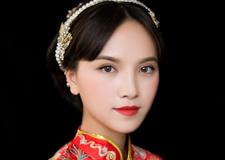 最新影楼资讯新闻-精致中式秀禾新娘造型 传承古典之美