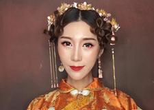 最新影楼资讯新闻-最美不过中国风 炫美中式新娘造型