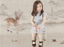 最新影楼资讯新闻-赖毅古风作品 儿童工笔画写真:弟子规