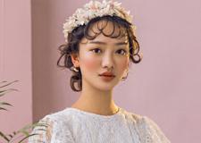 最新影楼乐虎娱乐平台新闻-粉色复古新娘造型