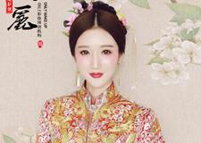 最新影楼资讯新闻-红妆新娘造型 演绎不一样的中国风