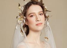 最新影楼资讯新闻-白纱新娘造型 浪漫又不失甜美