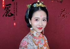 最新影楼资讯新闻-最美红妆新娘造型