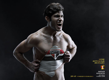 最新影楼资讯新闻-巴西足球劲旅 圣保罗足球俱乐部创意平面广告设计