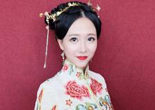 最新影楼资讯新闻-中式古韵之美 红妆新娘造型欣赏